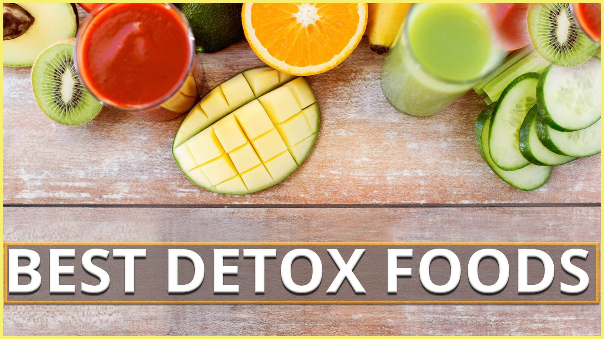Good Detoxing Foods