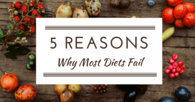 5 Reasons Diet Fail