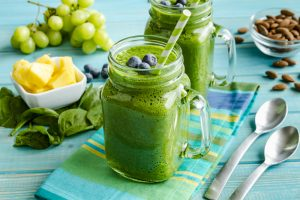 Smoothie prepared with BuyOrcanicsOnline's nutritional yeast products