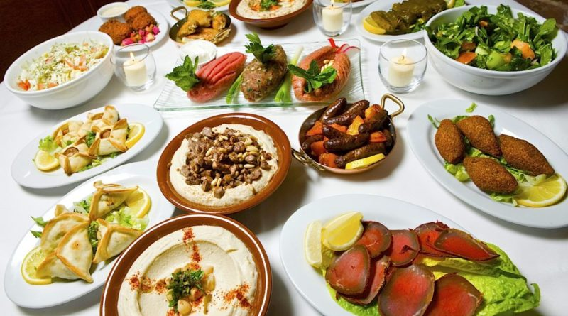 Lebanese Cuisine, along with the Middle East