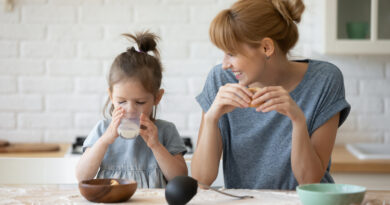 Toxins in milk