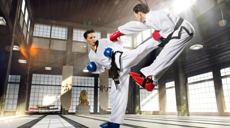 Martial Arts Training Exercises
